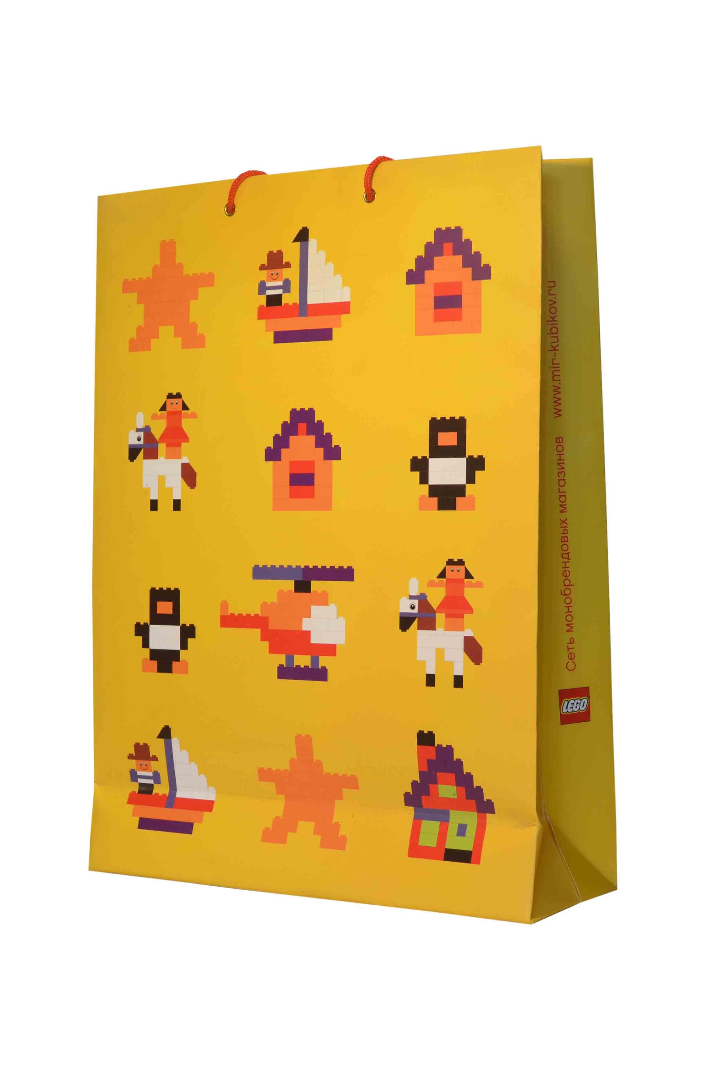 бумажные пакеты лего
